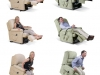 Electric Care Recliner Positions