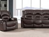 Black or Brown Leather.Reclining armchairs.