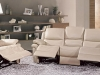 Latte or Dark Brown, reclining or fixed options available.