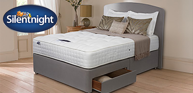 silent night single bed